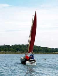 Daysailing Instructor Dinghy Student